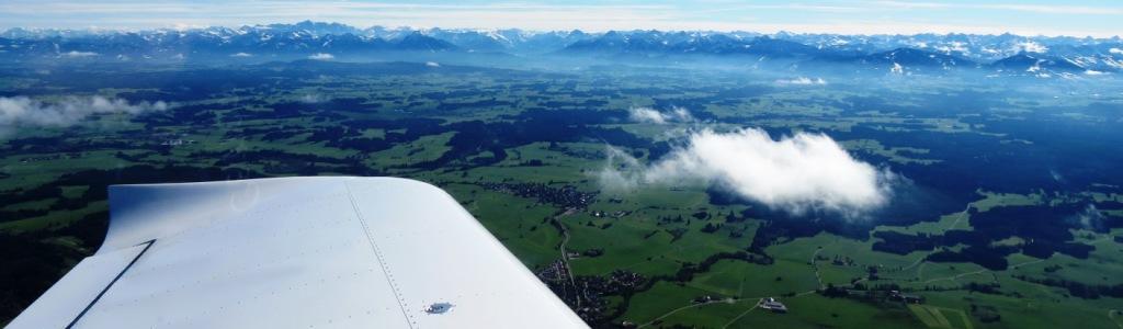 Ausblick auf die Alpen aus der MZSM